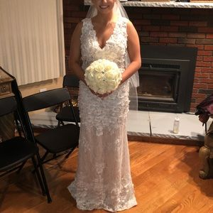 White Macduggal Dress